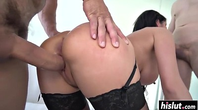 Threesome stocking, Stocking anal
