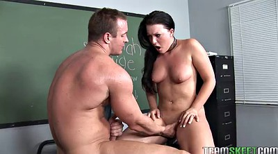 Classroom, Desk, Pounded