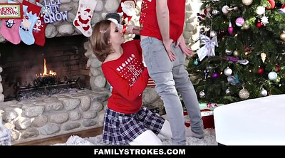 Stepsister, Photo, Grope, Big brother, Groped, Christmas
