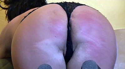 Sexy wife, Ass punishment