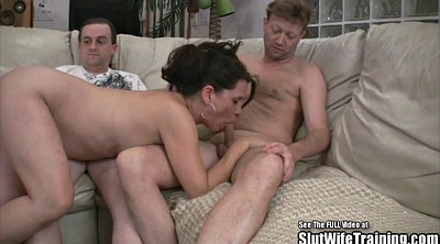 Brunette, Wife swallows, Party fuck