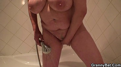 Mature wife, Blond granny