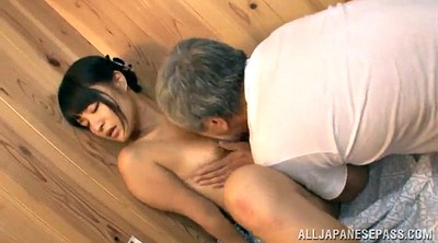 Asian granny, Sauna, Spa, Asian old, Hairy man, Old asian man
