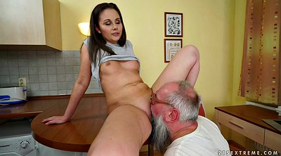 Farting, Shay, Old dick, Dirty panties, Young russian