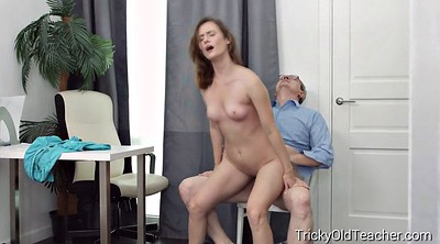 Old teacher, Granny sex