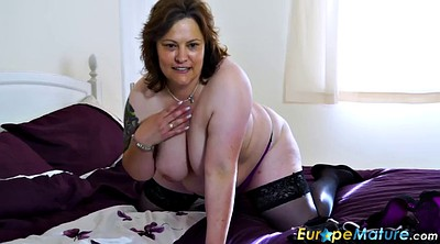 Chubby mature, Mature solo, Mature granny