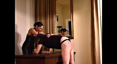 Caning, Femdom spanking, Caned, German latex