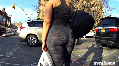 Candid booty, Candid