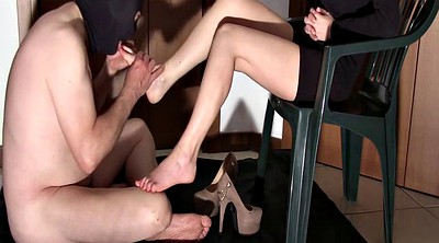 Upskirt, Footing, Lick foot