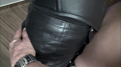 Leather, Hotel, Gloves