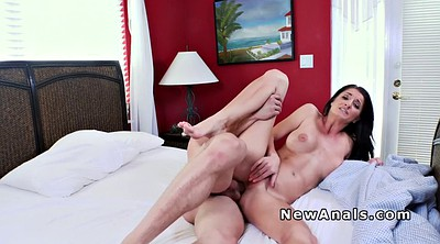 Fake, Milf big boobs, First anal, First time anal
