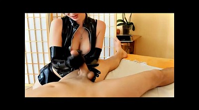 Latex, Gloves, Short, Glove handjob