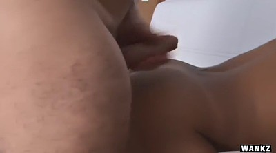 Midget, Cum in mouth, Lucky b, Latina doggy fucking brunette, Latina doggy fucking