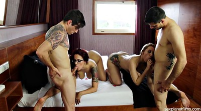 Hotel, Motel, Party fuck, Bisexual cuckold