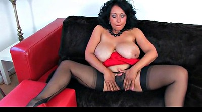 Heels, Dress, Red milf, Dressed, Danica collins, Ebony milf