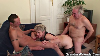 Mature group, Mature orgy, Granny group, Old threesome