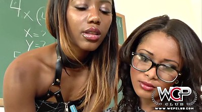 Ebony lesbians, Teacher and student