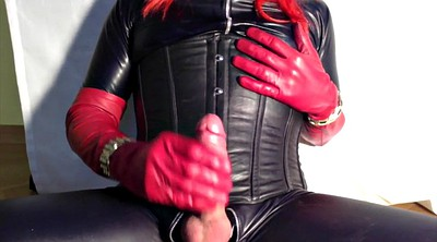 Crossdresser, Glove, Boots, Crossdressers, Latex shemale, Gloves