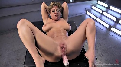 Peeing, Machine squirting, Mom anal, Mature anal, Fucking machine, Machine fucking