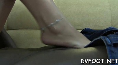Feet licking