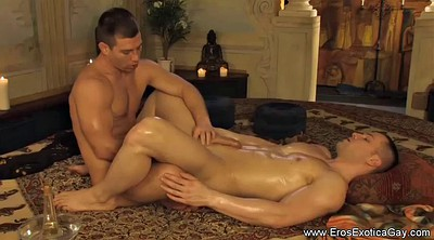 Young couple, Massage gay