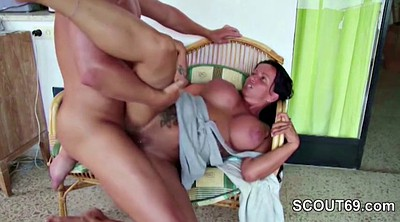 Mom son, German, Step mom, Step-mom, Mom seducing son, Mom big tits