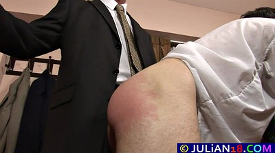 Spank, Spanked, Office, Twink, Mature gay, Office gay