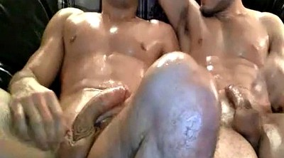 Gay group, Masturbating together