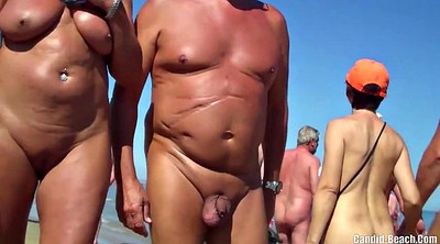 Nudist, Nudists, Nudist beach, Nudism, Sexy milf, Nudist beach voyeur