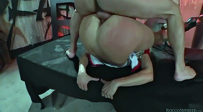Double anal, Prison, Brittany, Group anal