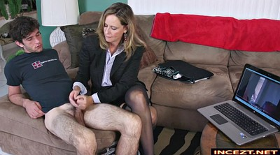 Blackmail, Mother son, Blackmailed, Mother handjob, Mother and son, Blackmailing