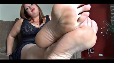 Nylon, Nylon feet, Bbw foot