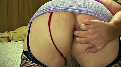 Nylon, Chubby anal, Stocking anal, Chubby solo, Bbw solo ass, Stockings solo