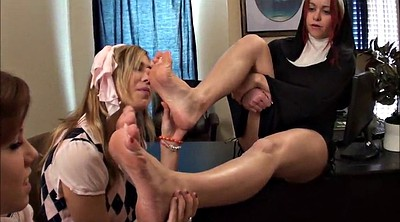 Punish, Female, Punishment, Wicked, Smell foot, Smell feet