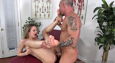 Jillian janson, Foot worship
