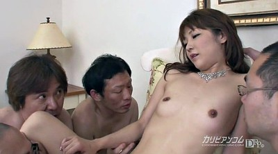 Asian mature, Asian group sex
