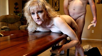 Spanking, Wife spank, Housewife, Table, Wife spanked, Wife spanking