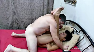 Daddy, Fuck, Asian dad, Old gay, Asian daddy, Daddy gay