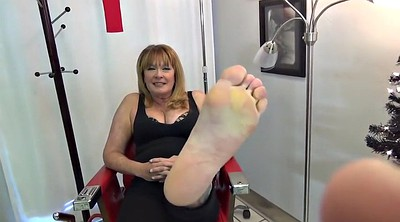 Mature feet, Big feet