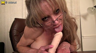 Secretary, Mature amateur, Granny mature