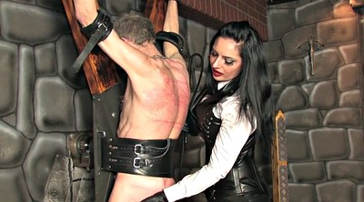 Whipping, Whip, Leather, Whipping femdom, Femdom whipping