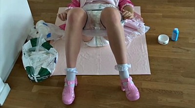 Maid, Changing, Change, Diapers, Diaper