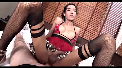 Thai shemale, Upskirts, Asian shemale