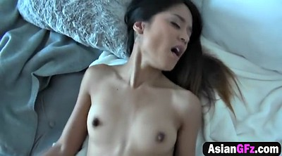 Small, Asian girlfriend
