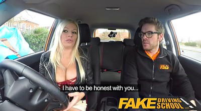 Fake driving school, Squirting orgasm, Fake driving, Driving