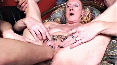 Fisted, French mature