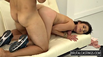 Interview, Brutal fucking, Penelope, Casting model, Casting hairy, Brutal blowjob