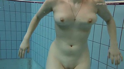 Take off, Nude, Underwater, Swimsuit, Public pool, Nude show