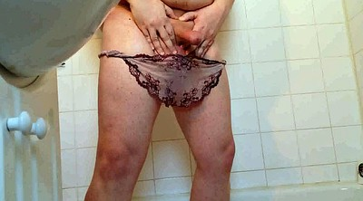 Shower, Lacey, Bbw panties