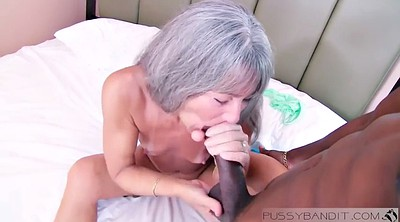 Asian granny, Granny interracial, Asian and black, Mature threesome, Black granny